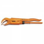 Beta Tools 003740063, 374 Series 45 Degrees Slim Jaws Pipe Wrench