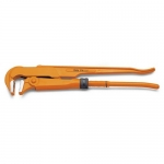 Beta Tools 003760063, 376 Series 90 Degrees Slim Jaws Pipe Wrench