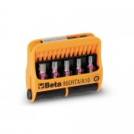 Beta Tools 008600930, 860RTX/A10 Set of 10 Bits Screws with Bit Holder