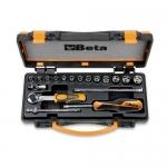 Beta Tools 009000953, 900/C13-5 Set of 13 Hexagon Sockets