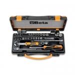 Beta Tools 009000956, 900/C24 Set of 13 Hexagon Sockets