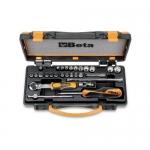 Beta Tools 009000979, 900MB/C28 Set of 11 Bi-Hex Sockets