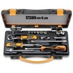 Beta Tools 009000981, 900AS/MB-C17 Set of 10 Bi-Hex Sockets