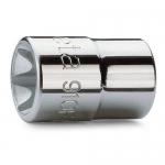 Beta Tools 009100406, 910FTX E6 Hand Socket for Torx Head Screws