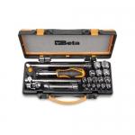 Beta Tools 009100935, 910A/C16MR Set of 16 Hexagon Sockets