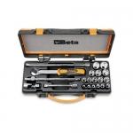Beta Tools 009100936, 910A/C16 Set of Hexagon Sockets and Accessories