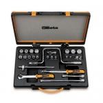 Beta Tools 009100938, 910A/C17 Set of Hexagon Sockets and Accessories