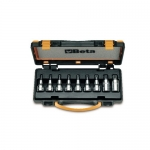Beta Tools 009200546, 920TX/C9 Set of 9 Socket Drivers for Head Screws