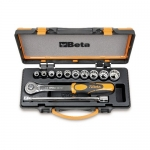 Beta Tools 009200919, 920AS/C10 Set of Bi-Hex Sockets and Accessories