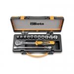 Beta Tools 009200921, 920A/C11 Set of Hexagon Sockets and Accessories