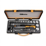 Beta Tools 009200939, 920A/C17HR Set of Sockets and Accessories