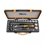 Beta Tools 009200955, 920A/C20Q Set of 20 Hexagon Sockets