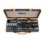 Beta Tools 009200989, 920TX/C17 Set of 6 Bits, 6 & 5 Socket Drivers