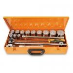 Beta Tools 009280957, 928B/C12 Set of 12 Bi-Hex Hand Sockets