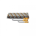 Beta Tools 009650019, 965/S3 Set of 3 Pry Bars with Flat Curved Ends