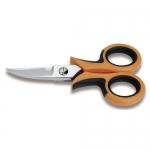Beta Tools 011290000, 1129BM 145mm Curved Blades Electrician's Scissor