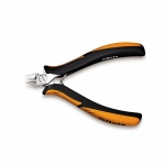 Beta Tools 011850102, 1185BM Diagonal Flush Cutting Nippers with Tips