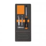 Beta Tools 024500085, M85 Assortment Set of Magnetic Bit Holder
