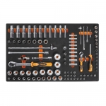 Beta Tools 024500100, 2450 M100 Kit of Tools in Thermoformed, 98 pcs