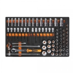 Beta Tools 024500120, 2450 M120 Kit of Tools in Thermoformed, 75 pcs
