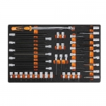 Beta Tools 024500121, 2450 M121 Kit of Tools in Thermoformed, 46 pcs