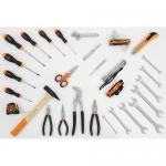 Beta Tools 059150121, 5915VU/0 Kit of Tools for Universal Use, 35 pcs