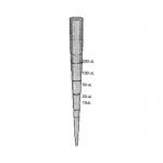 Bio Plas 1012R, Reference Tip Slim Pipet Tip 1-200 Microliters