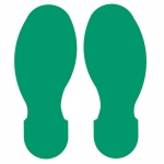 Brady 104407, ToughStripe 3.5″ Green Floor Footprint