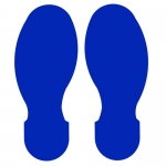 Brady 104408, ToughStripe 3.5″ Blue Floor Footprint