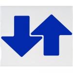 Brady 104420, ToughStripe 3″ Blue Floor Arrow