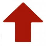 Brady 104424, ToughStripe 4″ Red Floor Arrow