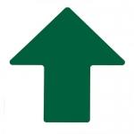Brady 104425, ToughStripe 4″ Green Floor Arrow