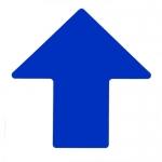 Brady 104426, ToughStripe 4″ Blue Floor Arrow