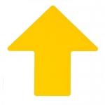 Brady 104427, ToughStripe 4″ Yellow Floor Arrow