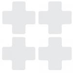 Brady 104471, Floor Corner Mark, Cross Die-Cut Design