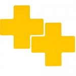 Brady 104475, Floor Corner Mark, Cross Die-Cut Design