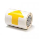 Brady 104529, ToughStripe 2″ Yellow Polyester Floor Arrow