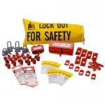 Brady 121510, Electrical Lockout Starter Kit for Mexico