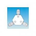 Ace Glass 12730-39, 3-Way Tefzel Valve