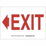 Brady 132135, 7″ x 10″ Polyester Exit Sign