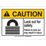 Brady 144495, Safety. Failure To Lockout… Sign