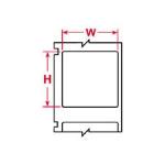 Brady CL-511-122, PRO Series 32028 0.75″ x 1″ Paper Label