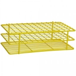 Bel-Art Products 18750-0002, Poxygrid Test Tube Rack Yellow, 72 Places