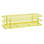 Bel-Art Products 18755-0002, Poxygrid Yellow Test Tube Rack, 48 Places