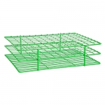 Bel-Art Products 18759-0000, Poxygrid Green Test Tube Rack, 108 Places