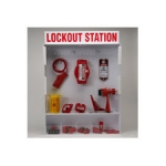 Brady 99695, Extra Large Enclosed Lockout Station with out Padlocks