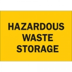 Brady 30670, 10″ x 14″ Aluminum Hazardous Waste Storage Sign