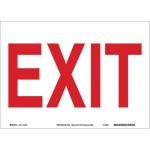 Brady 41054, 10″ x 14″ Aluminum Exit Sign