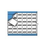 Brady WM-400-PK, 112199 Marker w/ Legend: 400