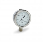 Cat Pumps 6073, 3000 psi Pressure Gauge, Stainless Steel 400F